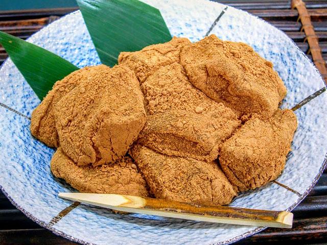 1わらび餅(泉仙)